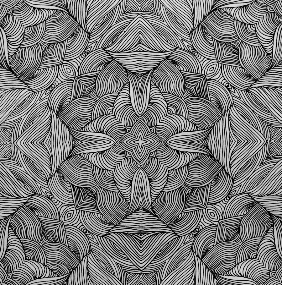 Mirrored Swirls