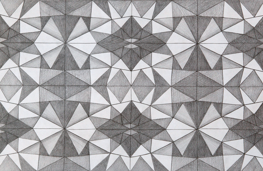 Kaleidoscope drawing by Janet Towbin
