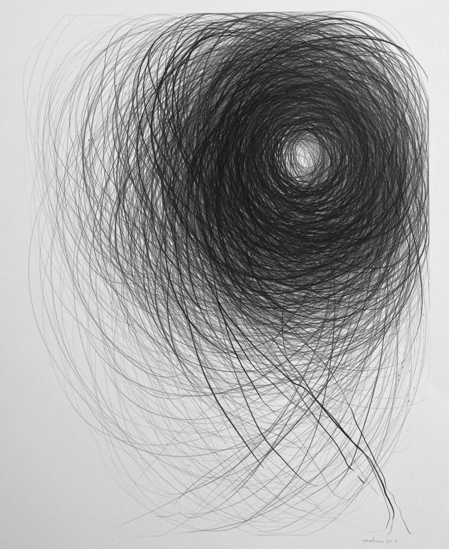 Meditation on a Black Stone by Janet Towbin
