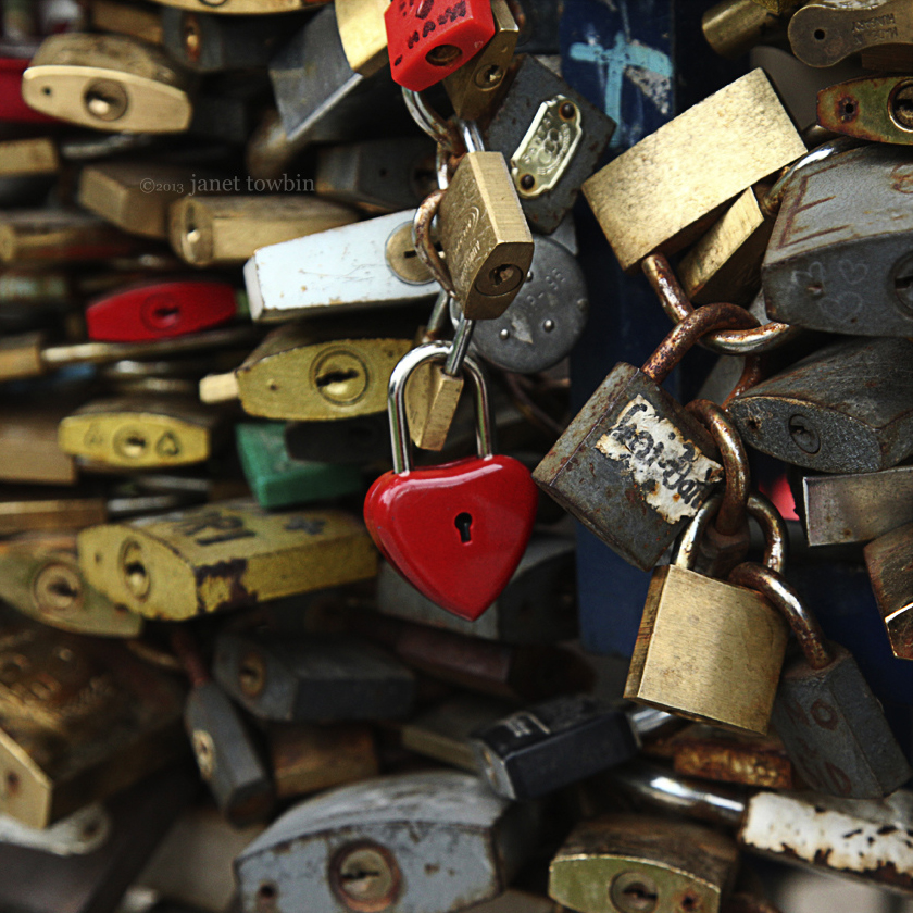 Lots of Love Locks by Janet Towbin