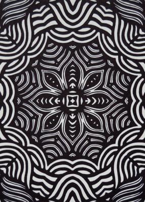 Linocut Swirls