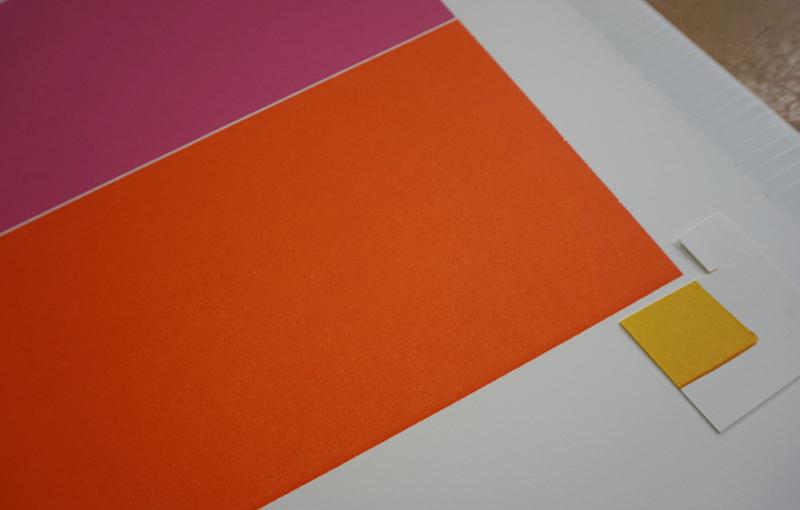 color mixing print