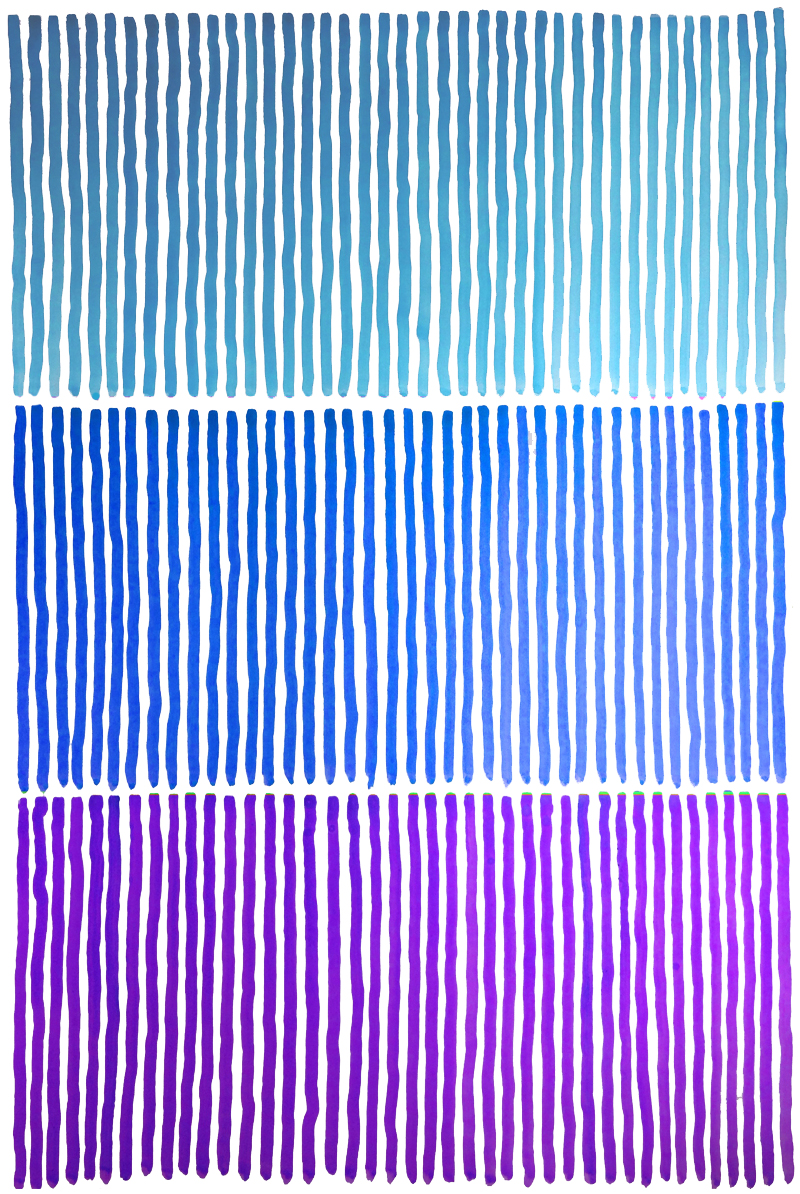 Painted Stripes by Janet Towbin