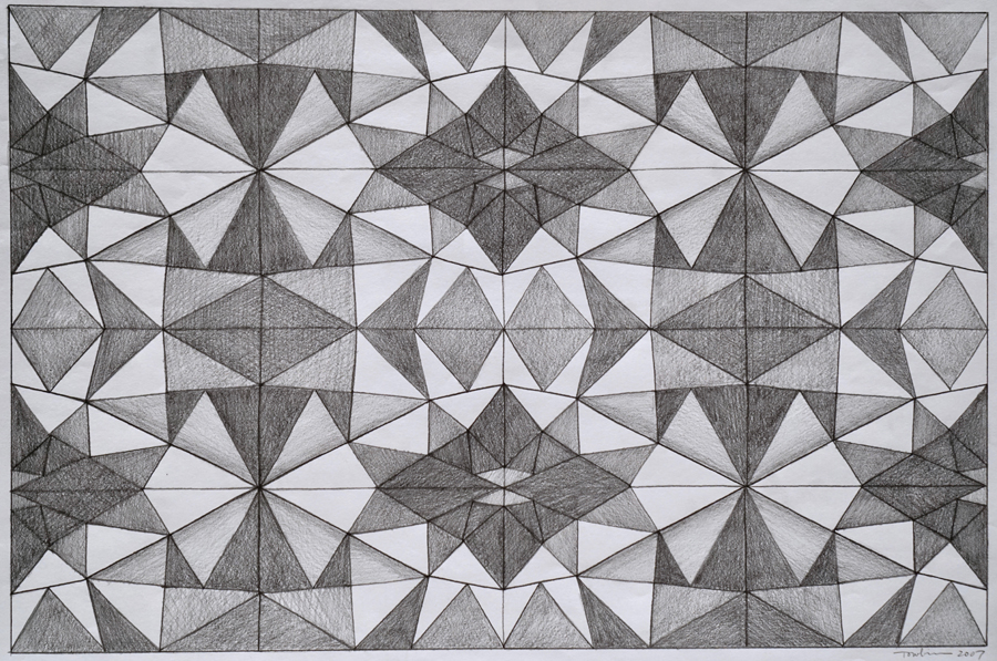 Kaleidoscope Drawing